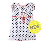 Sister's dotty dress
